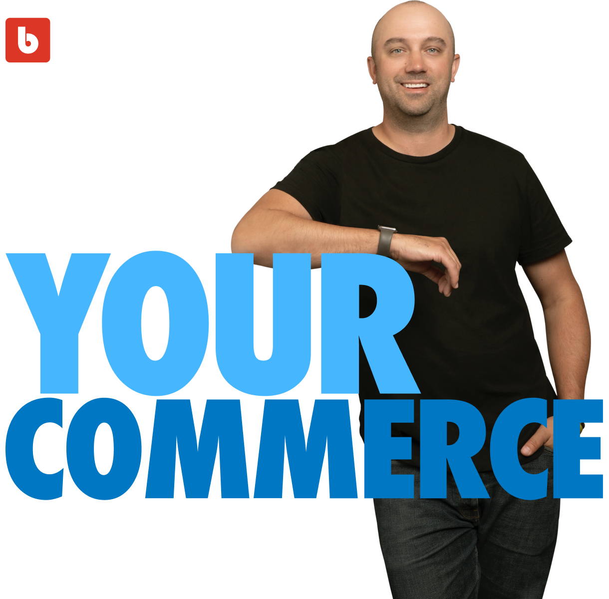 Own Your Commerce logo with Jay Myers photo